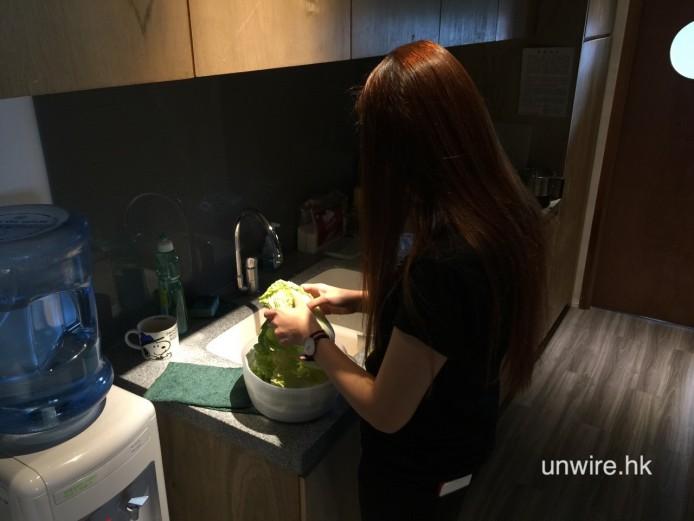 先洗菜是當識吧~