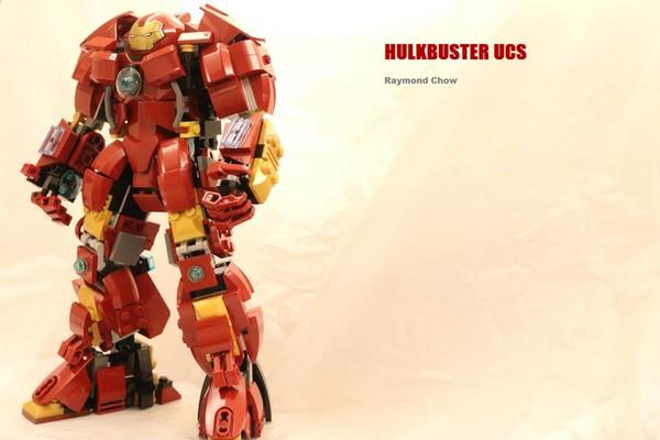800 塊 LEGO 砌成!Hulkbuster UCS LEGO 模型等您投票支持