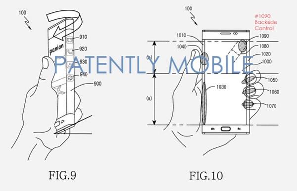 Samsung 新專利曝光!手機背面加入觸控操作功能
