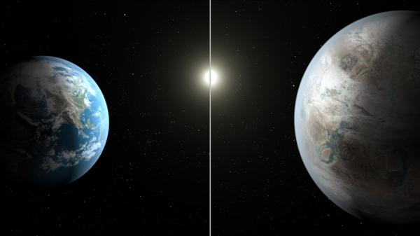 Kepler 452b 比地球大 1.5 倍,但卻同樣會圍繞類似太陽的恆星公轉
