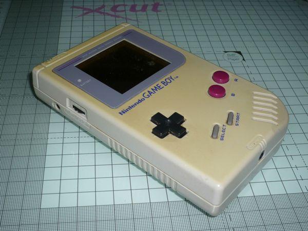 Gameboy 機殼已經變黃