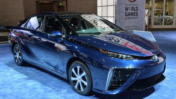 氫氣車 Toyota Mirai 下星期開始接受預訂