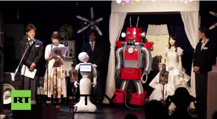 2015-07-06 09_54_56-Japan_ Watch Japan's first ever ROBOT WEDDING - YouTube