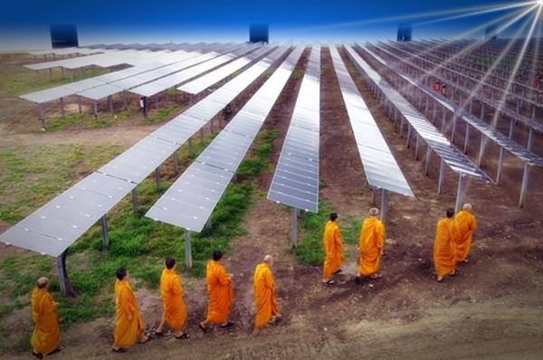 Solar-power-plant-Lopburi-Thailand