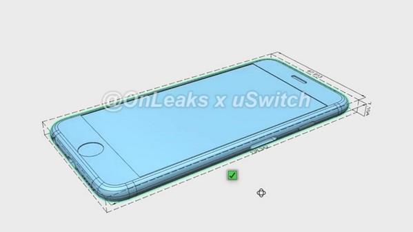 iPhone 6s 機身厚度將增至 7.1mm,與現時的 iPhone 6 Plus 相同