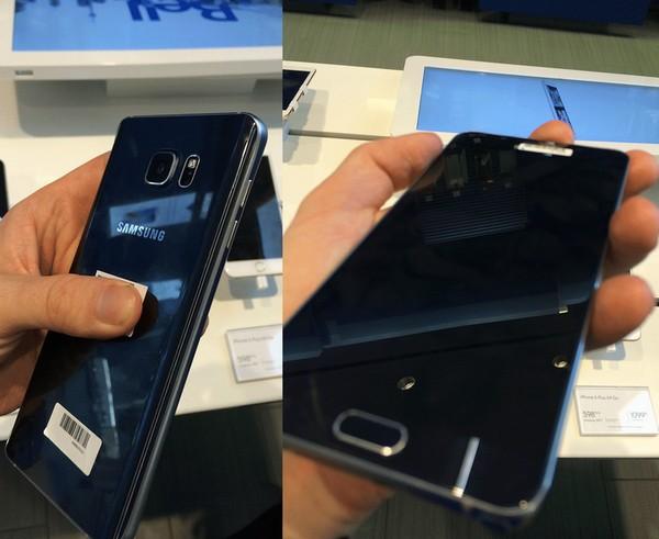 Galaxy Note 5 實機圖