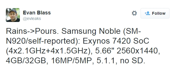 2015-08-02 00_46_28-Evan Blass on Twitter_ _Rains-_Pours. Samsung Noble (SM-N920_self-reported)_ Exy
