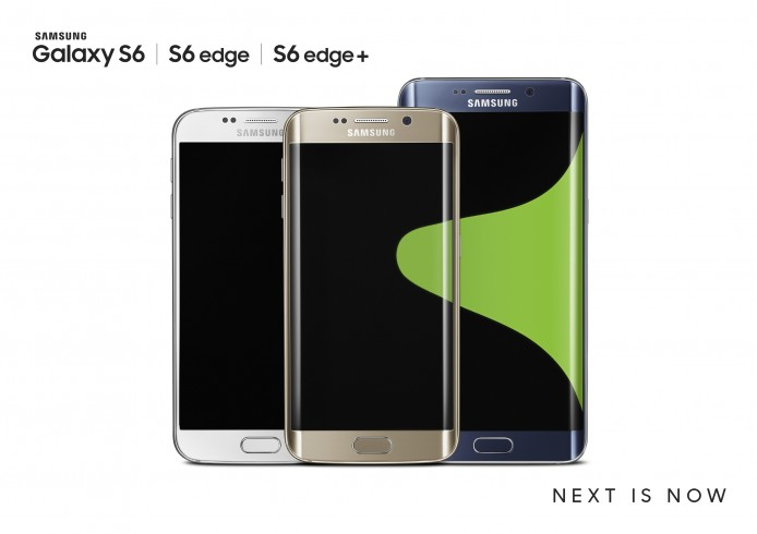 Galaxy S6 edge+_S6 edge_S6_Black_Gold_White_2P