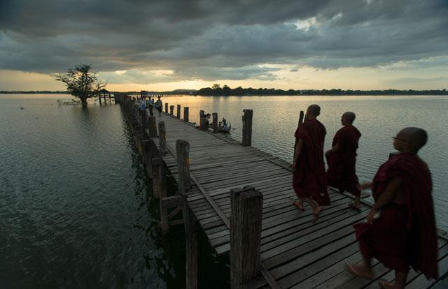 緬甸,烏本橋