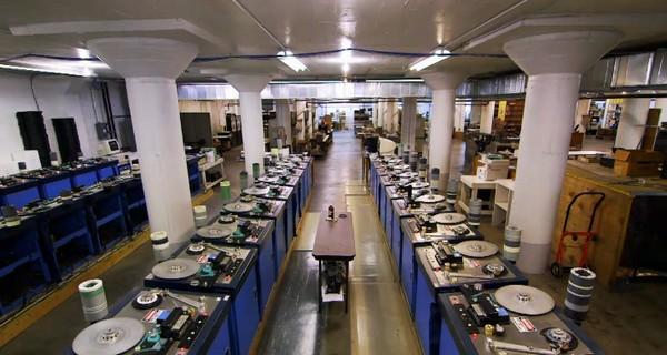 NAC 至今仍採用 1970 年代的生產線