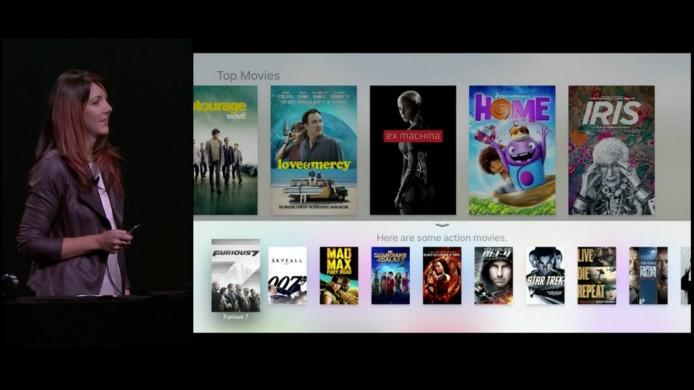 新 Apple TV 就會提議你睇《狂野時速 7》、《末日先鋒:戰甲飛車》等。