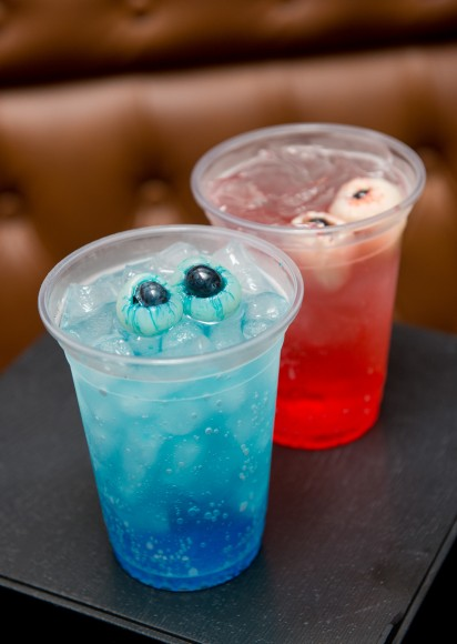 Disney Haunted Halloween F&B_Blue Monster and Red Monster