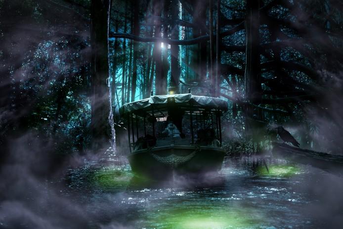 Disney Haunted Halloween_Adventureland_Curse of the Emerald Trinity