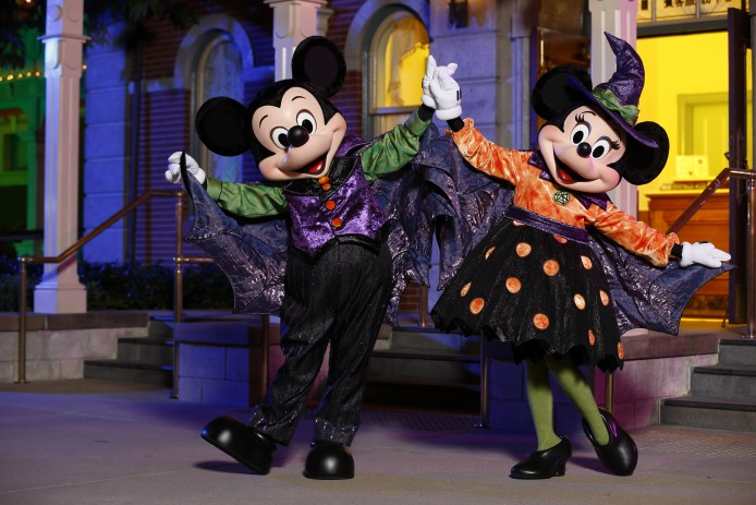 Disney Haunted Halloween_Characters Meet and Greet_Mickey and Minnie