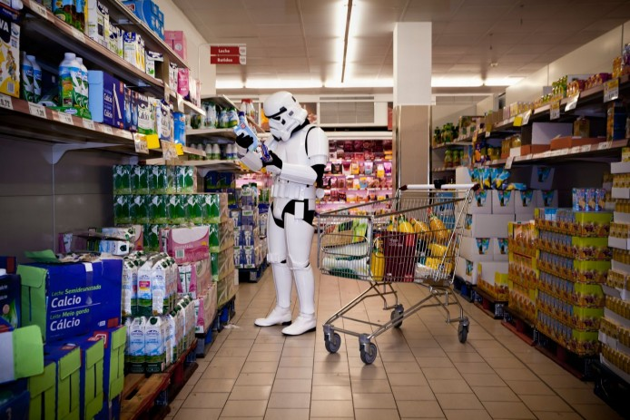 PAY-A-Stormtrooper-carrying-out-the-food-shop-at-a-supermarket