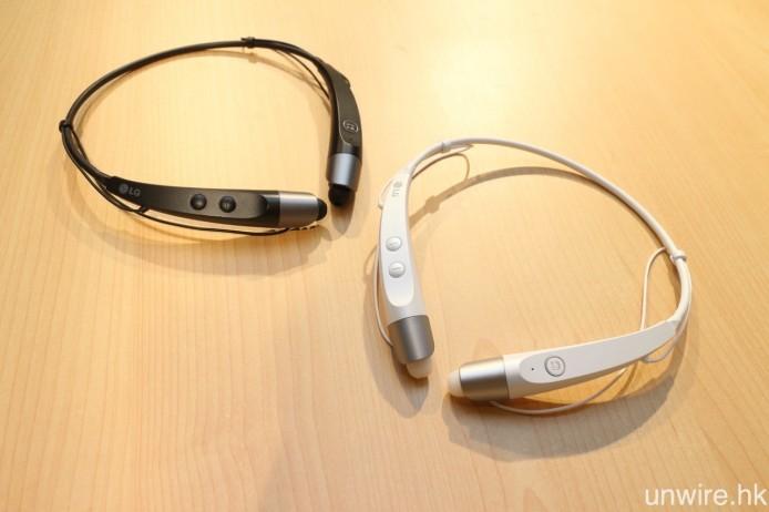 HBS-500 設有黑、白兩種顏色選擇。