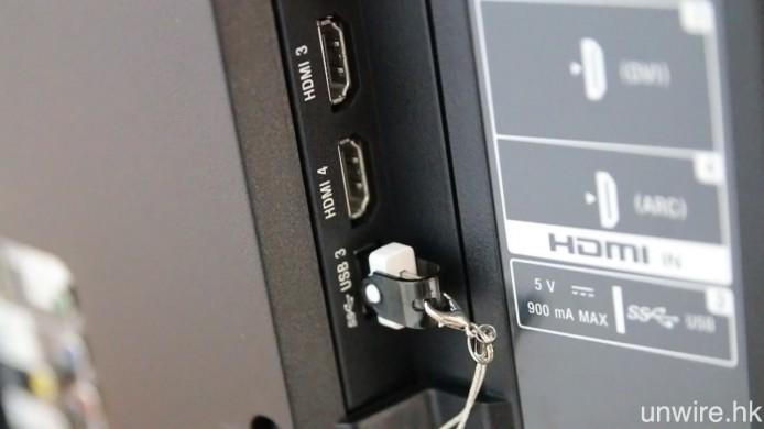 可透過 USB 直讀 4K 影片。