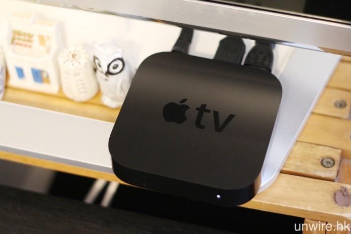 若 Wire 民不想使用 Chromecast,Apple TV 也可讓你配合各種 iOS 裝置或 Mac 電腦,在大屏幕電視上觀看港超聯直播。