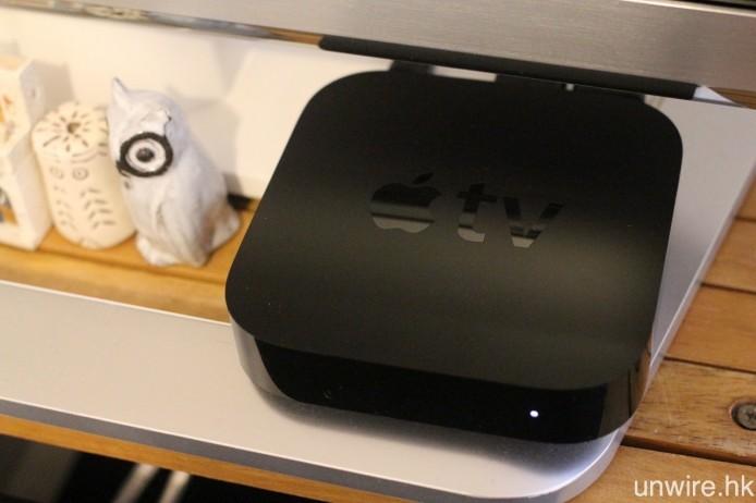 哪些接收裝置支援 AirPlay?原廠的就有 Apple TV 及 AirPort Express,可以透過 HDMI 或光纖,將它們連接至擴音機或音響組合。