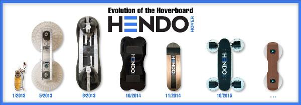 Hoverboard 多年來設計上的演變