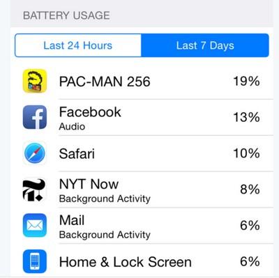 「聲音」在背景上不斷處理或者是 Facebook 耗電的原因之一