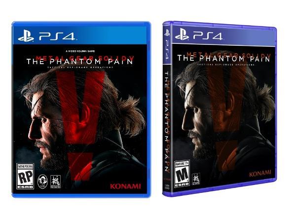 《Metal Gear Solid V: The Phantom Pain》封面刪除了小島秀夫的名字,早就顯示他似乎會離開 Konami