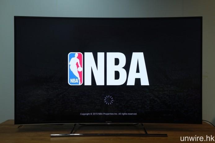 ▲ 雖則說是專屬 apps,但艾域在測試安裝《NBA》app 時,竟然出現彈 app 情況,原因不明,亦代表該智能電視平台仍有大段改善空間。