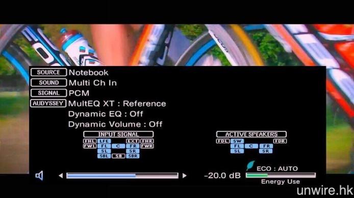 若選擇「自動」輸出,則會由 Apple TV 先解碼成 PCM 7.1 多聲道音效,再傳輸至擴音機。
