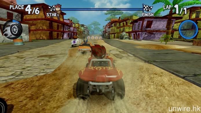 不同的賽車遊戲,玩法其實都大同小異,好快就悶。