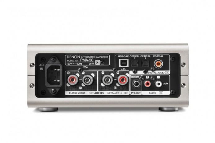 艾域身邊有朋友使用 Denon PMA-50 擴音機,當下不少兩聲道擴音機都不設 HDMI 輸入的,新版 Apple TV 不設光纖輸出,就無法直接連接這類擴音機聽歌了。