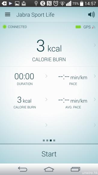每次完成運動之後,你就可在 app 之中隨意選擇想掌握的資訊。
