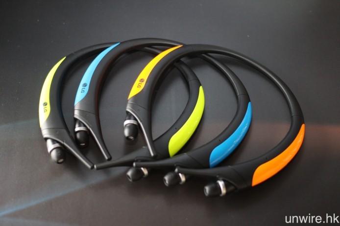 共設有橙黑、藍黑及青黑 3 種機身顏色選擇。