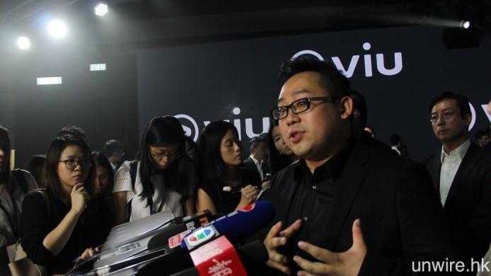 魯庭暉表示 ViuTV 粵語頻道將會以高清廣播,而之後推出的英語頻道則只會以標清廣播。