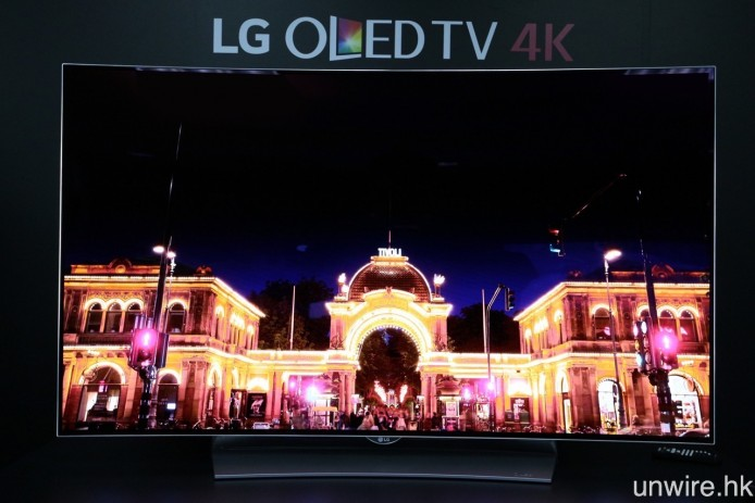 OLED TV 最強之處在於黑位能夠達至真正純黑,從而令畫面的對比度更高,整體立體感更強。