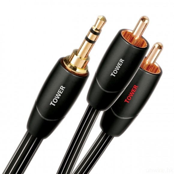 若果微型音響組合、擴音機等只設 RCA 輸入,你就需要圖中的 3.5mm/RCA 轉接線。