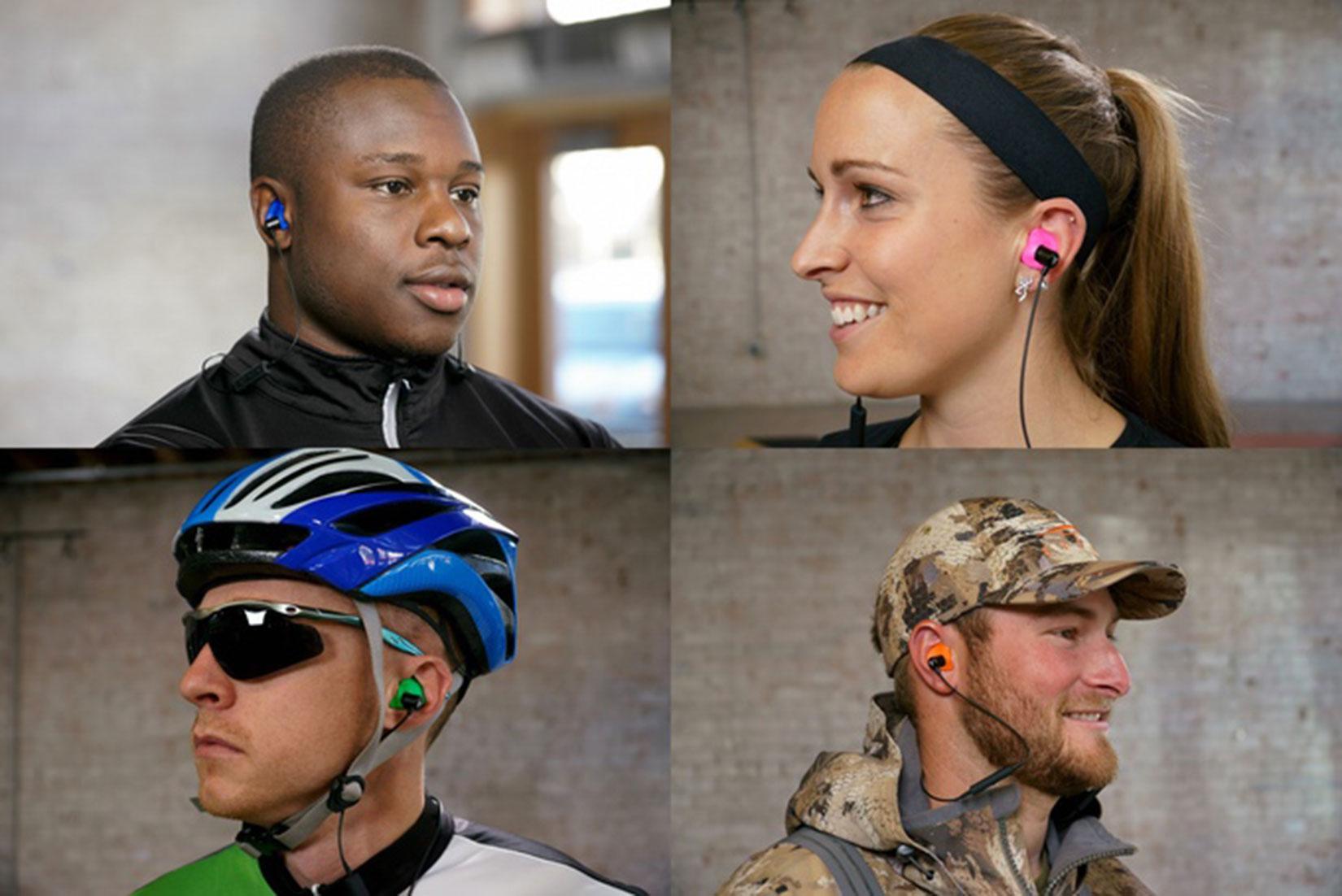隔音 40 分貝 Decibullz 藍牙耳機自製耳膠更舒適