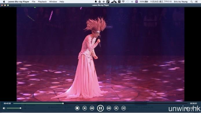 若果你與艾域一樣是使用 Mac 的話,用上如《Leawo Blu-ray Player》播放軟件,亦可在 Mac 電腦上欣賞 BD。