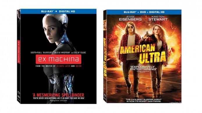 ▲ 現已推出市場的 DTS:X BD,就只有《Ex Machina》及《American Ultra》兩套美版 BD。