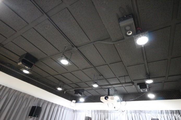 ▲ D&M 影音示範室為 7.1.4 配置,既適用於 Dolby Atmos 亦對應 DTS:X。