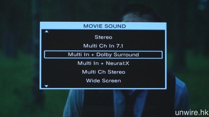 ▲ 不過在更新之後,所有 Denon 及 Marantz 的擴音機均不能作跨品牌 Upmixing,意即原音效為 Dolby,就不能使用 DTS Neural:X 作 Upmixing,反之亦然,若想直接比較兩者之間哪一個 Upmixing 做得較好,或許需要播放原生音效訊號為 PCM 無壓縮訊號了。