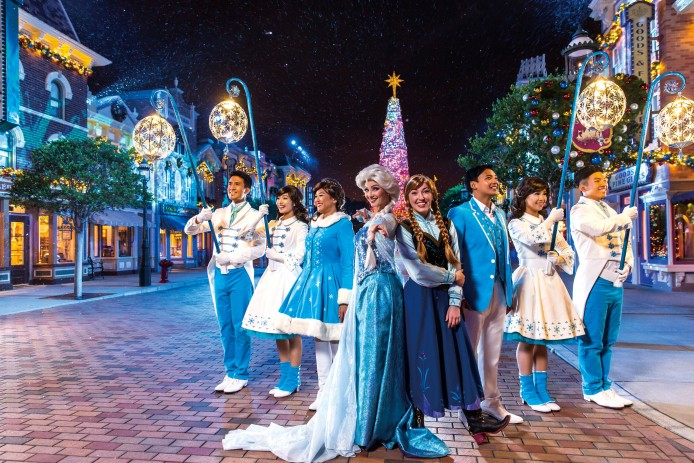 Frozen Christmas Tree Lighting Ceremony(3)