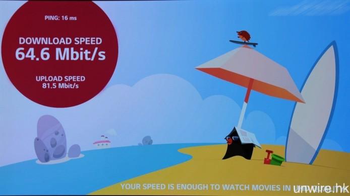 想知道自己家中的寬頻網絡能否應付 4K 串流?則可下載「Internet Speed 2」app 進行寬頻速度測試。