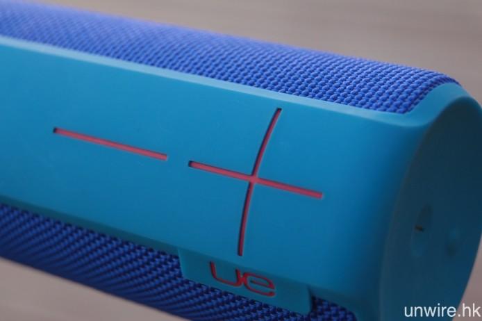 包括 Boom 2 在內的全線 UE 便攜藍牙喇叭,均用上 IPX7 級別防水機身,並設有特大音量增減按鍵。