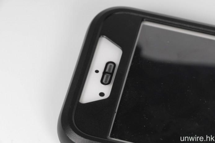 聽筒位同前鏡頭都用到,特別在聽筒位係漏聲唔漏水,好神奇!