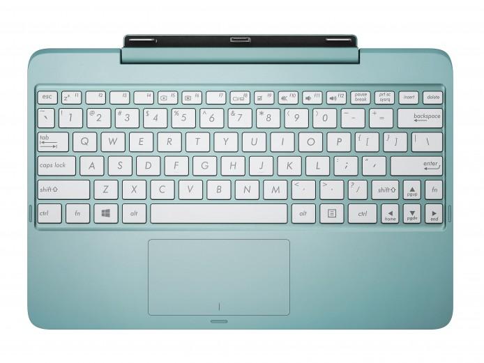 鍵盤 Dock 上有接口,只要輕輕插入就能連接。