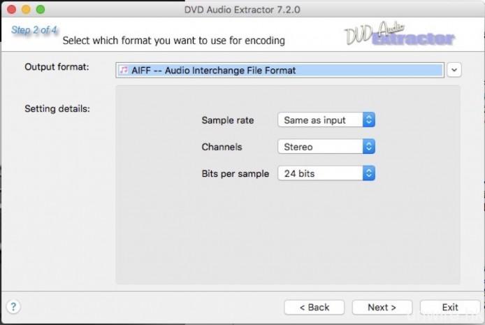 之後再以另一軟件《DVD Audio Extractor》抽取相關聲軌,這種做法相對較為費時失事,但就確保轉換後的聲音檔案不會有問題。