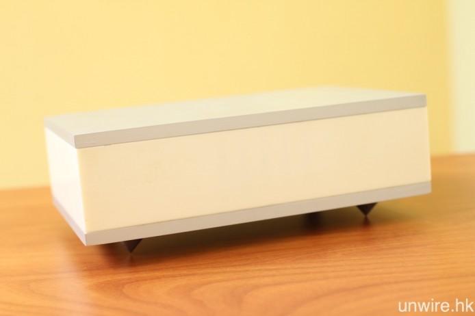 ONEbox.mini 與 ONEmicro box 都將會設有光纖輸入端子,讓用戶連接其他訊源裝置。