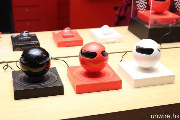 設有黑、紅、白三種顏色選擇。