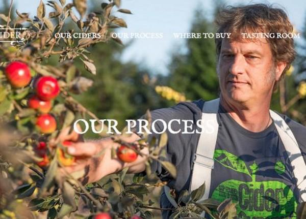 Wes Cherry 目前已經成為一間蘋果汁公司的負責人