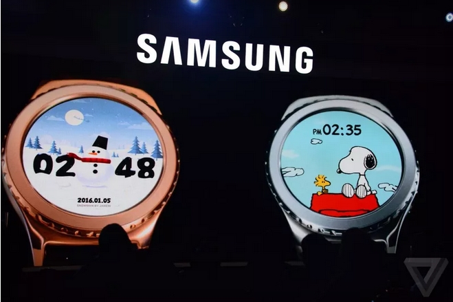 2016-01-06 19_15_50-Apple's smartwatch has Mickey, so Samsung got Snoopy for the Gear S2 _ The Verge